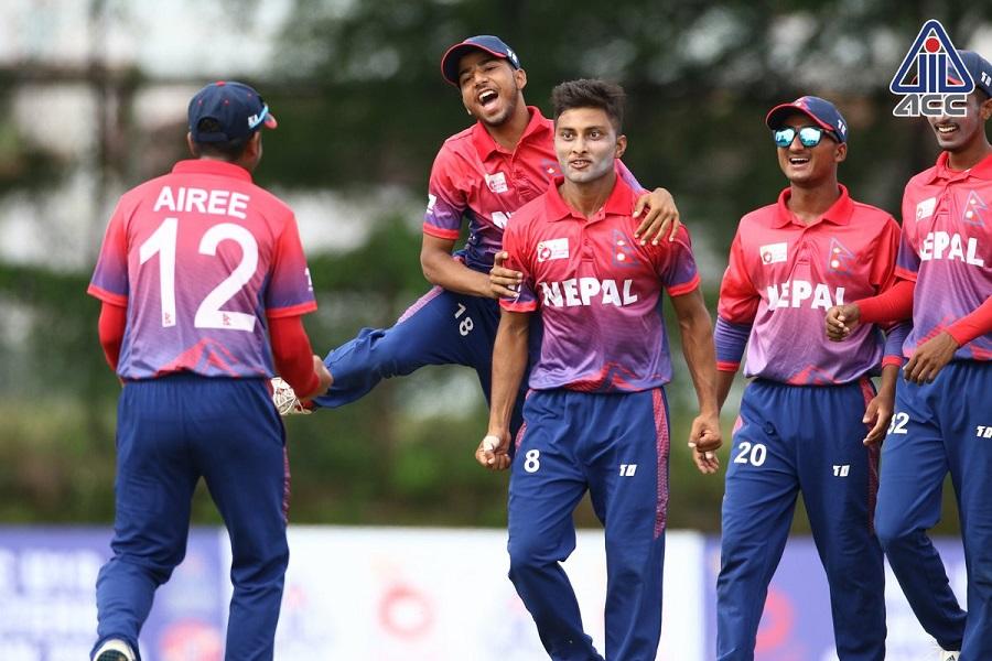 एशिया कप क्रिकेटः नेपाल श्रीलङ्कासँग पराजित
