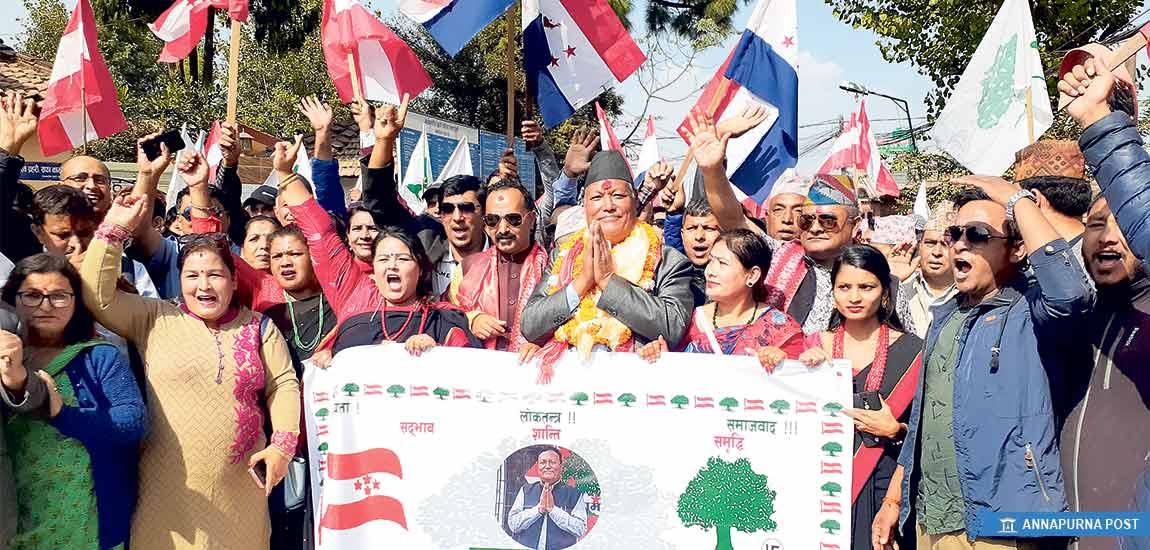 चुनाव जित्ने कसरतमा कांग्रेस