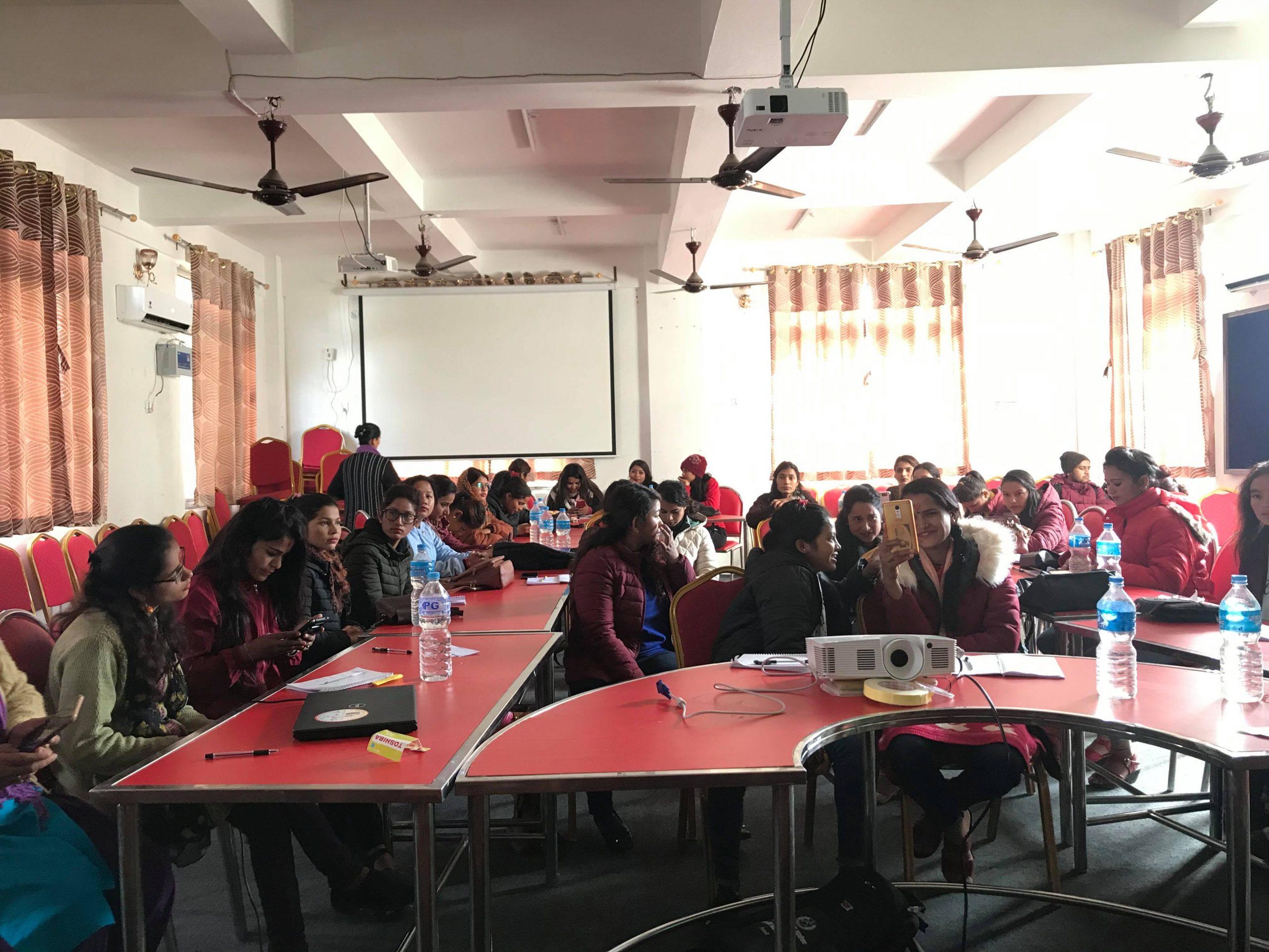 पत्रकार महिलाका लागि आधारभूत पत्रकारिता तालिम सम्पन्न