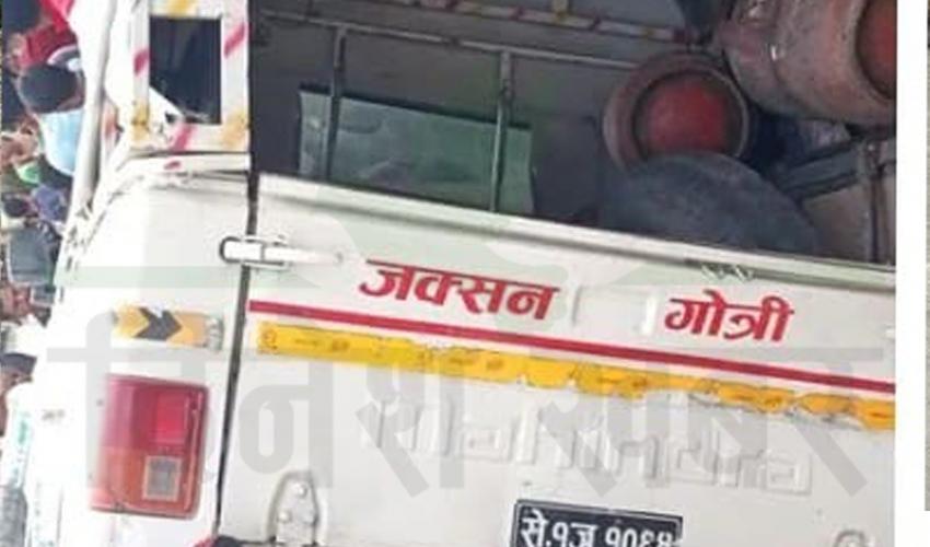 बाजुरामा जिप दुर्घटना, ४ जनाको मृत्यु