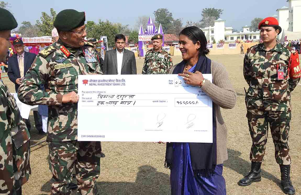 सेना आस्था र भरोसाको केन्द्रबिन्दु- प्रधानसेनापति