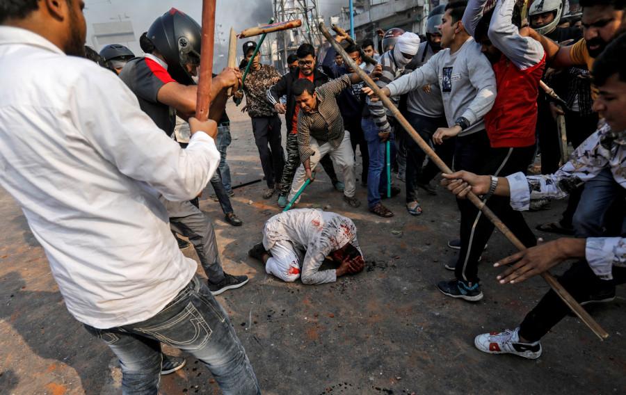 भारतमा दंगा
