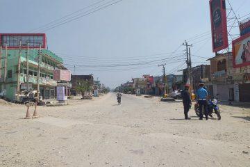 लकडाउन धनगढी (फोटो फिचर)