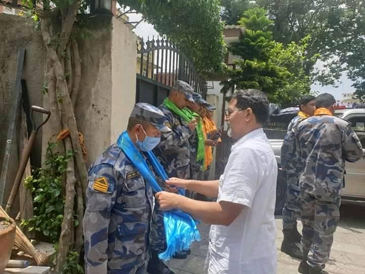 जनार्दन शर्माले फिर्ता गरे गाडीसहित सुरक्षाकर्मी