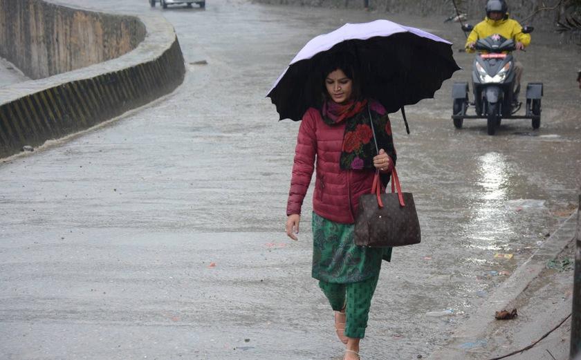 शनिबारसम्मै अधिकांश स्थानमा वर्षा हुने पूर्वानुमान