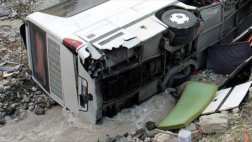 बाँकेमा गाडी दुर्घटना, ११ जनाको मृत्यु