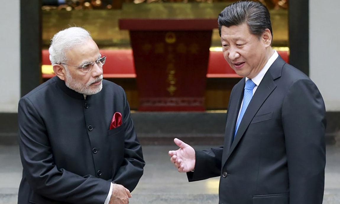 युद्ध निकट भारत र चीन