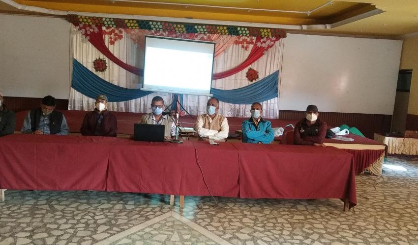 नेपाली काँग्रेस कैलालीको ३९ औँ बैठक धनगढीमा सम्पन्न