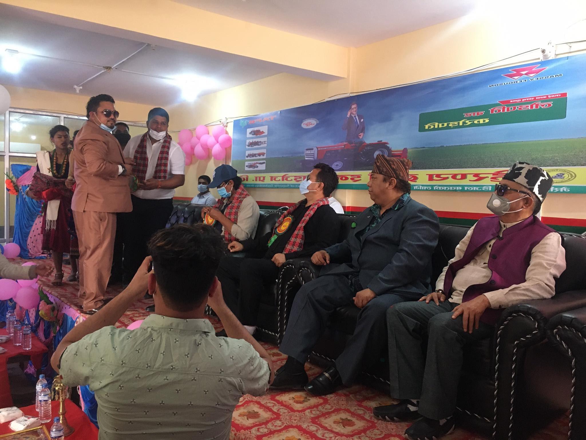 भारतको प्रख्यात टाफे ग्रुपको मेसि कम्पनीको ट्याक्टर पहिलो पटक धनगढीमा सोरुम