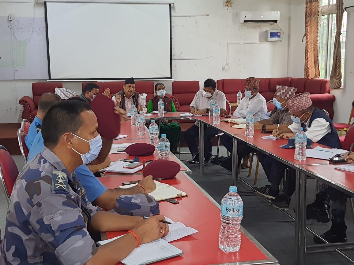 कोरोनाको तेश्रो लहर रोकथामको तयारी तिब्र